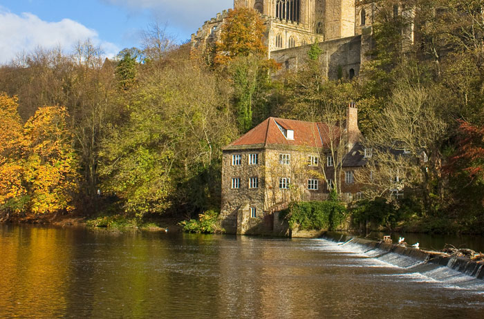 Durham River on the banks of the Wear